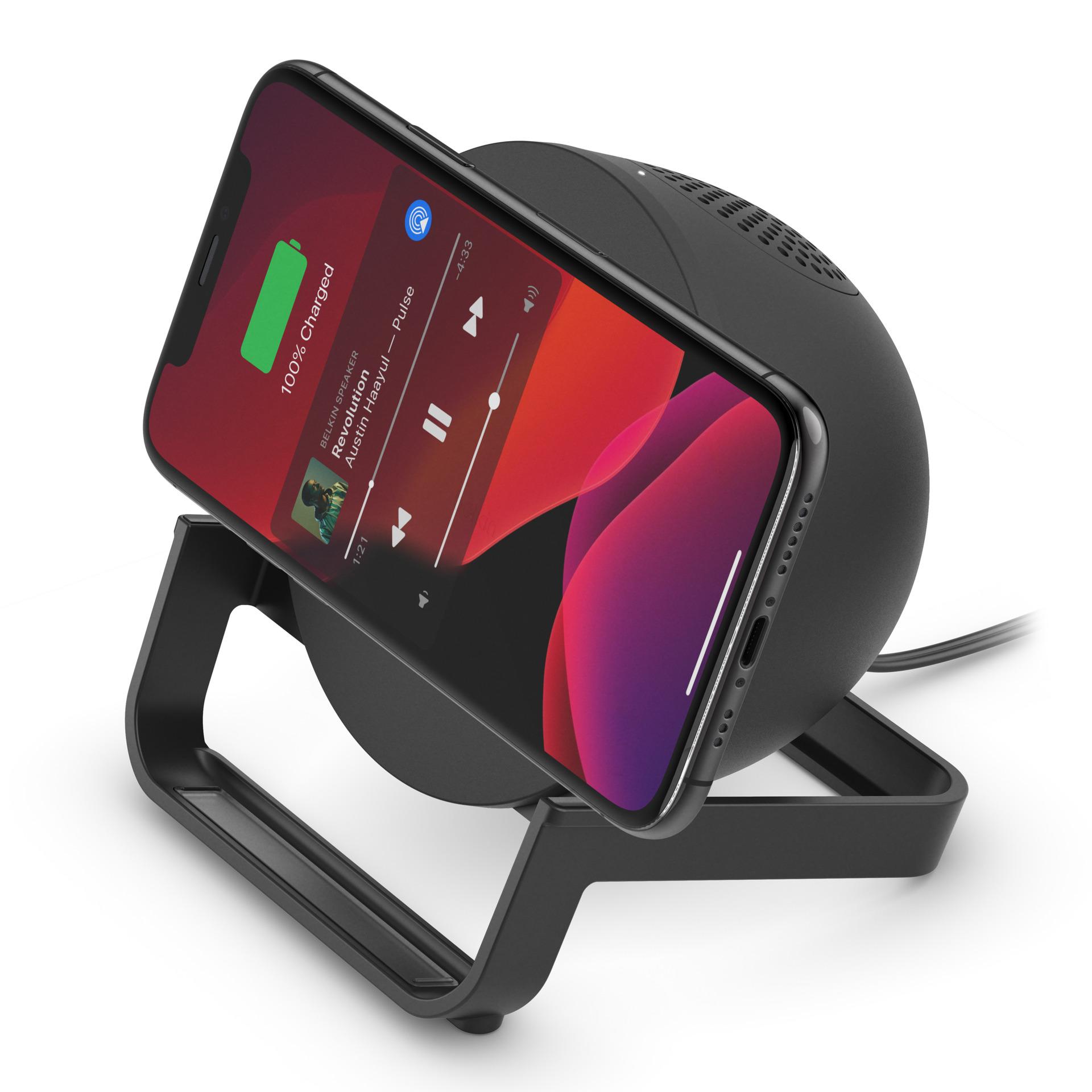 Indexbild 7 - Belkin BoostCharge Wireless Ladestation induktiv Lautsprecher Android iOS